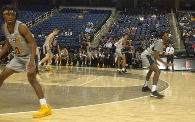 UNCG vs William Peace, Win 106-34